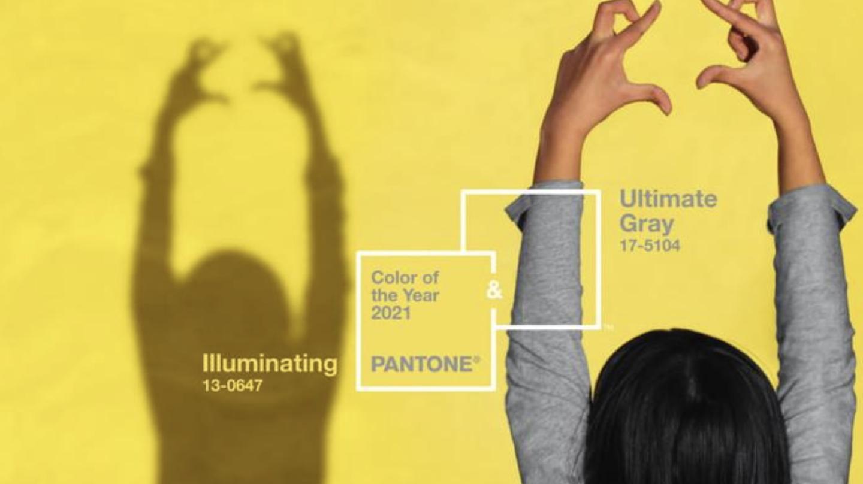 Deux couleurs élues pour l'année 2021 par Pantone