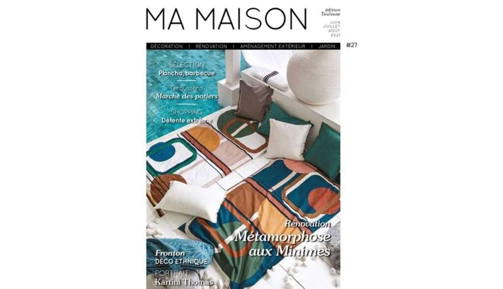 Couverture du magazine Ma Maison